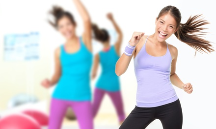 Group Fitness Classes, One or Three Months of Classes, or Pole-Dance Party at The Ladies Room (Up to 84% Off)