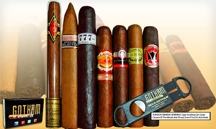 Spring Samplers from Gotham Cigars: Cigar Samplers from Gotham Cigars (Up to 55% Off). Two Samplers Available. Free Shipping.