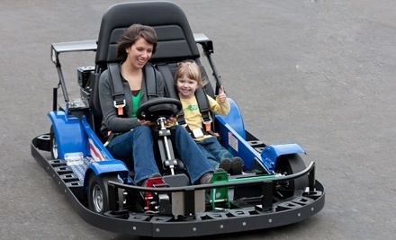 Mini Golf and Go-Karting for Two, Four, or Six at Mountasia Family Fun Park (Half Off)