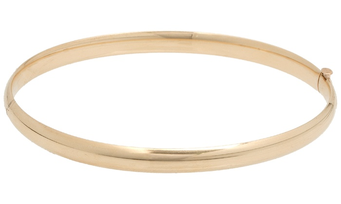 in bracelet large bracelets hammered bangles champagne bangle set solid img diamond products gold
