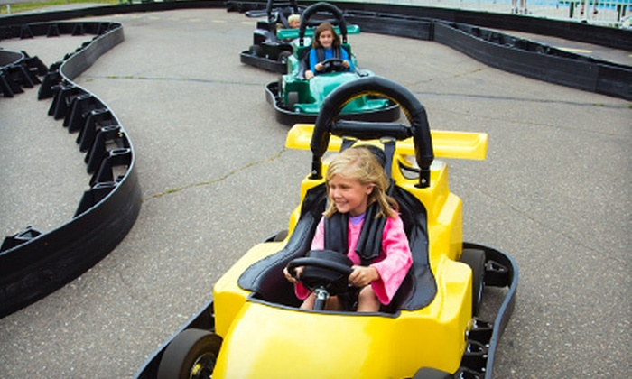 Big Kahuna Fun Park - Spicer: Mini Golf, Go-Karts, and Bumper Tubes for Two, Four, or Six at Big Kahuna Fun Park in Spicer (Up to 56% Off)