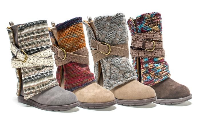 Muk Luks Fashion Winter Boots | Groupon Goods