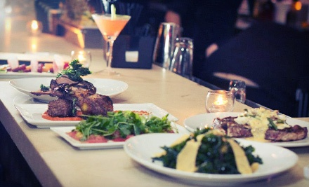 Three-Course Steak-House Meal with Cocktails at Lost Society (Up to 56% Off). Two Options Available.