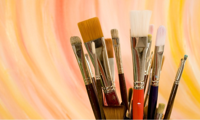 aprons-n-easels - Sweetwater: $17.50 for a BYOB Canvas-Painting Class for One at aprons-n-easels ($35 Value)