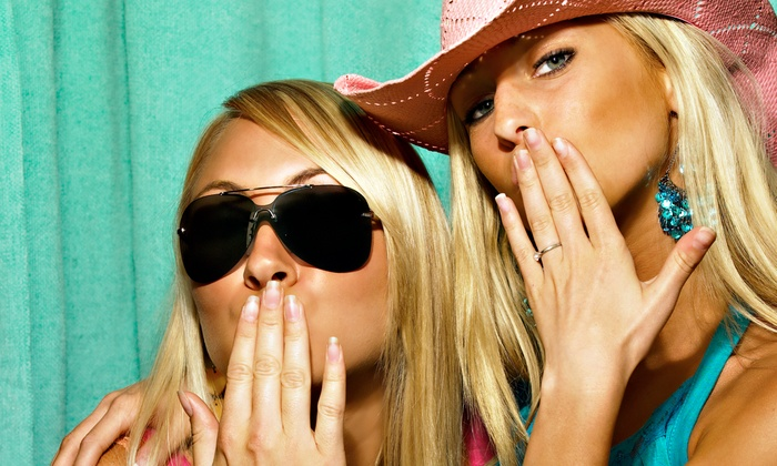 Kandid Kiosk - Ventura County: 180-Minute Photobooth Rental with Prints, Props, and Custom Graphics from Kandid Kiosk (50% Off)