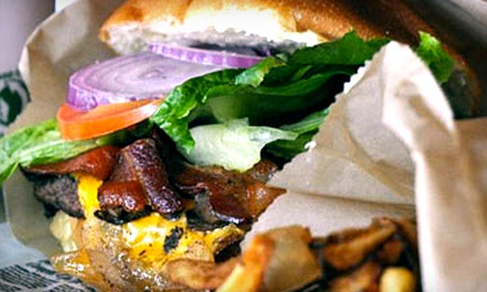 Little Shanty - Warren: Burgers, Sandwiches, and Fries at Little Shanty (Up to 52% Off). Two Options Available.