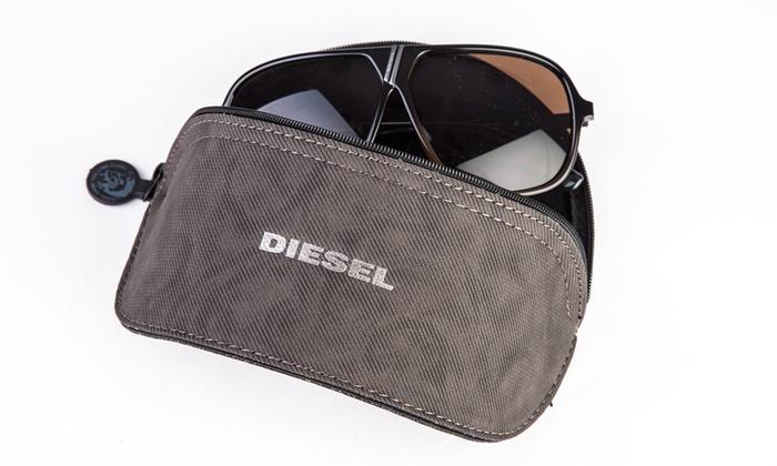 65eb78a3e37d29 Lunettes de soleil Diesel   Groupon Shopping