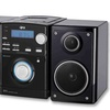 QFX Portable Home-Audio System with Detachable Speakers and Bluetooth