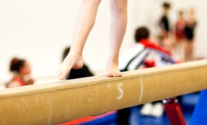 Asheville Gymnastics: One or Three Months of Boys and Girls Beginner or Cheer-Tumble Classes at Asheville Gymnastics (Up to 48% Off)