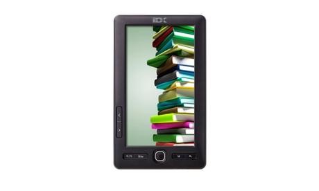 eBook reader e lettore multimediale IDX TAB 100 con schermo a colori