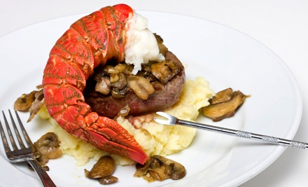 Upscale Bar and Steak-House Cuisine at Duo Restaurant & Lounge (40% Off). Two Options Available.