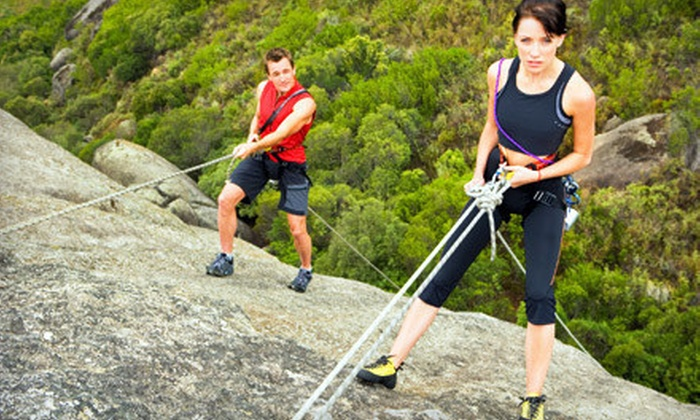 Joshua Tree Guides - Joshua Tree: $149 for a Four-Hour Private, Guided Rock-Climbing or Rappelling Tour for Two with Joshua Tree Guides ($310 Value)