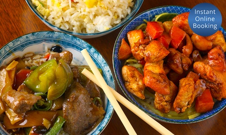 Chinese Banquette with Tea & Wine for Two $35 or Four $69 at Grand Palace Chinese Restaurant Up to $119.20 Value