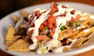 Bimbos Cantina: Mexican Fare and Drinks at Bimbos Cantina  (38% Off). Two Options Available.