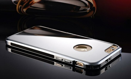 Ultra-Thin Aluminium Alloy Mirror Case Cover for Apple iPhone 6 or 6 Plus from AED 50 (Up to 75% Off)