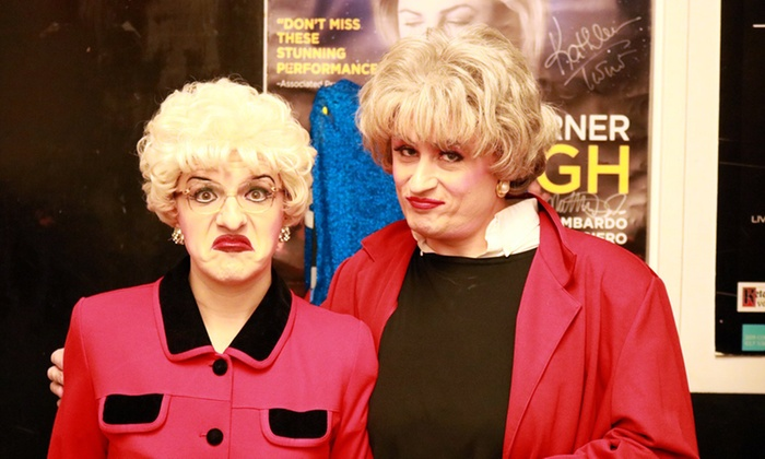 golden girls live up to 61 off drag christmas comedy