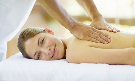 45-Minute Indian Head Massage or 60-Minute Swedish Massage with Optional Facial at Elaines Of Brampton (Up to 68% Off)