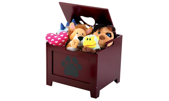 Pet Store Pet-Toy and Storage Box: $24.99 for a Pet Store Pet-Toy and Storage Box with Lid in Walnut or White ($29.98 List Price). Free Shipping.
