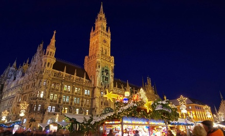 8-Day Tour of Germany and Austria with Round-Trip Airfare from Gate 1 Travel. Price/Person Based on Double Occupancy.