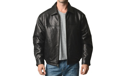 Boston Harbour Men's Leather Jackets. Multiple Styles Available. Free Returns.