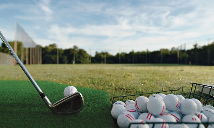 Rolling Hills Driving Range - Belair: Driving Range Package for Two or Four with Drinks and Gear Credit at Rolling Hills Driving Range (Up to 51% Off)