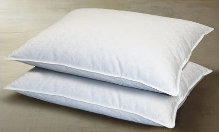 2-Pack of Hotel Grand White Down Pillows. Multiple Sizes Available.