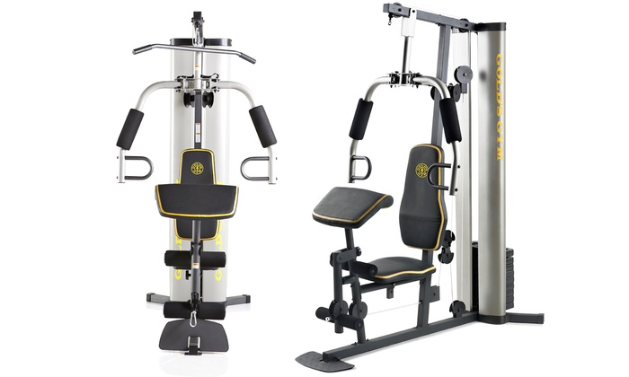 Up to off on gold s gym home gym groupon goods