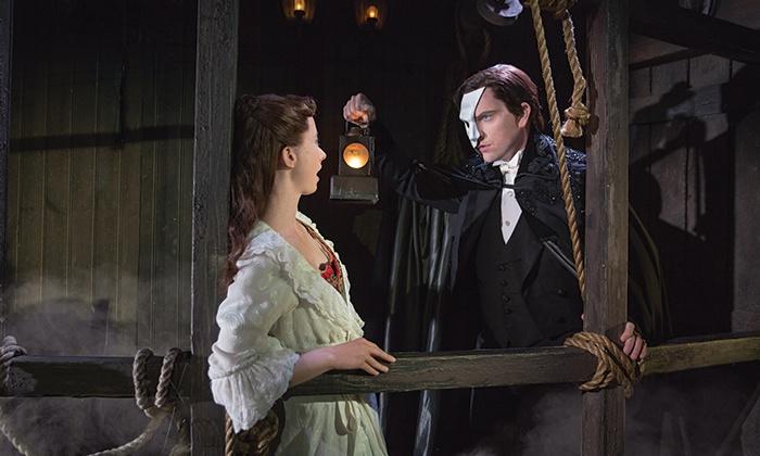 """The Phantom of the Opera"" - Chrysler Hall: ""The Phantom of the Opera"" at Chrysler Hallon January 8, 11, or 13–15 (Up to 26% Off)"