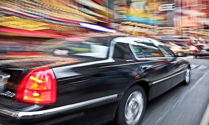 Carpe Diem Limousine & Transportation - University City: Airport or Downtown Transportation from Carpe Diem Limousine & Transportation (Up to 54% Off). Three Options Available.