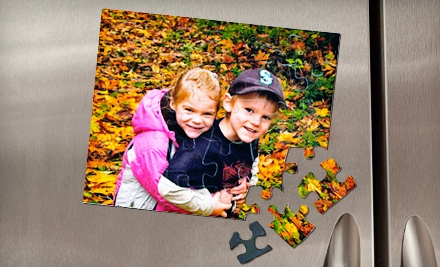 $20 for $40 Worth of Customizable Magnetic Puzzles from Heads Up Puzzles