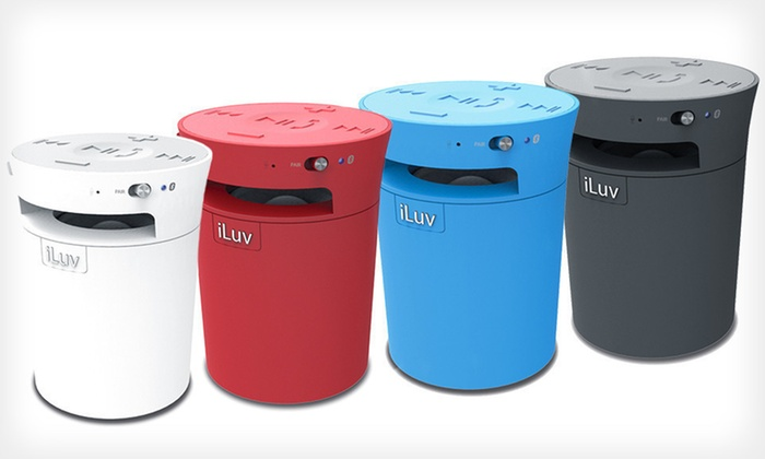iLuv Mobicup Bluetooth Speaker: $34.99 for an iLuv Mobicup Bluetooth Speaker ($79.99 List Price). Four Colors Available. Free Shipping.