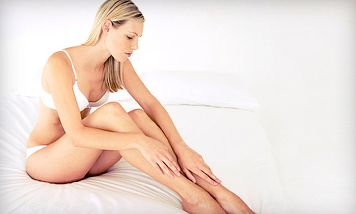 Edmonton Laser Centre - Strathcona Industrial Park: Six Laser Hair-Removal Treatments for a Small, Medium, or Large Area at Edmonton Laser Centre (Up to 89% Off)