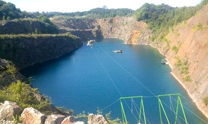 National Dive Centre: Zip Wire Ride for One or Two with National Dive Centre (Up to 53% Off)