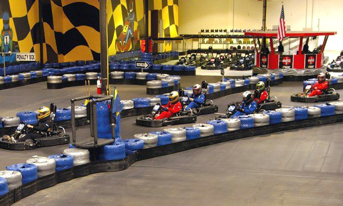 GoKart Racer - Multiple Locations: $40 for a $50 Gift Card for Racing at GoKart Racer