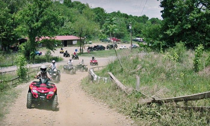 Four Wheelin' Expeditions - Wooly Park: Half- or Full-Day ATV Rental and Tour with Safety Gear from Four Wheelin' Expeditions in Lynnville (Up to 56% Off)