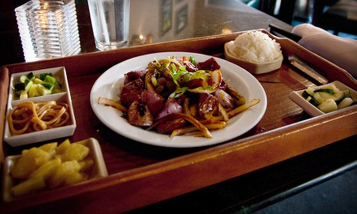 Liquid Ginger - Gainesville: $10 for $20 Worth of Pan-Asian Dinner Cuisine at Liquid Ginger