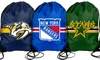 NHL Drawstring Backpacks 2-Pack: 2-Pack of NHL Drawstring Backpacks. Multiple Teams Available. Free Returns.