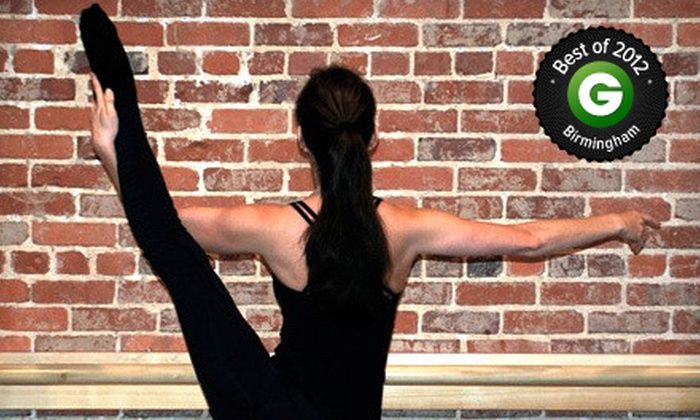 Grand Jeté - English Village: $25 for Four Barre-Fitness Classes at Grand Jeté ($76 Value)
