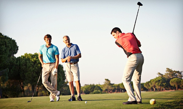 Mt. Freedom Golf - Randolph: $99 for Four Adult Beginner Golf Lessons with Four Rounds of Golf and Green Fees at Mt. Freedom Golf ($300 Value). Two Options Available.