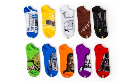 10-Pack of Women's Star Wars No-Show Socks