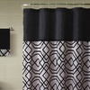 """Clearance: 72""""x72"""" Fabric Shower Curtain and 2 Cotton Fingertip Towels"""