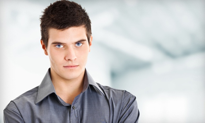 Hair iQ - North Shoal Creek,North Austin: One or Three Full-Service Men's Haircuts at Hair iQ (Up to 64% Off)