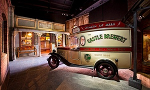 SAB World of Beer: Haunted Beer Tour Ticket from R153 for One with Optional Tasting at SAB World of Beer