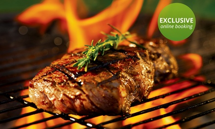 250g Flame-Grilled Fillet Steak with a Choice of Sides for Two for R179 at VickyCristina's Hyde Park (31% Off)