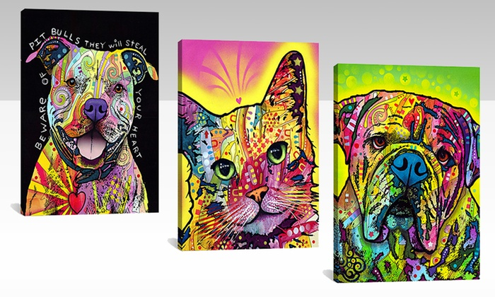 """26""""x18"""" Dean Russo Dog or Cat Print: 26""""x18"""" Dean Russo Dog or Cat Print. Multiple Prints Available. Free Returns."""