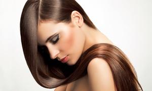 Salon C & Nail Spa: Haircut with Deep Conditioning and Blow Dry at Salon C & Nail Spa (56% Off)