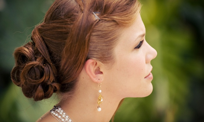Dona's Hair Salon - Fells Point: Occasion Updo, Salon Package for a Bride and Up to Four Bridesmaids, or a Haircut at Dona's Hair Salon (Up to 60% Off)