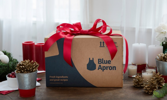 Blue Apron: Delivered Meals for Two or for a Family, with Shipping from Blue Apron (Up to 50% Off)