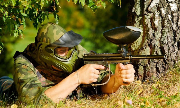 Insane Paintball - Amnicola - East Chattanooga: Paintball Outing for Five or Private Paintball Party for up to 20 at Insane Paintball (Up to 55% Off)