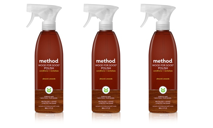 3-Pack of Method Wood for Good Furniture Polish 3-Pack of Method